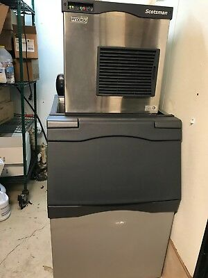 Scotsman N0622A-1B Prodigy Plus Ice Maker with Brand new 500lb Bin