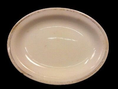 antique vintage primitive farmhouse Derwood WS George USA decorative plate dish