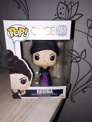 Funko Pop Vinyl #268 Once upon a Time Regina Mills Evil Queen