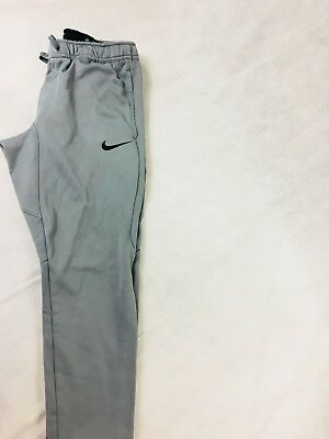 ed43ba1408868d Nike Therma Fit Jogger Work Out Training Cuffed Sweat Pants Grey Mens M
