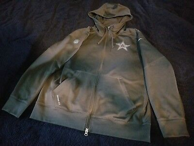 NFL DALLAS COWBOYS Nike Dri-Fit Therma Circuit 1 2 Zip Golf Jacket ... a88feb4ec