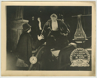 DR. JEKYLL & MR. HYDE English LC 1931 Fredric March horror lobby card dracula 2