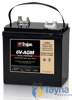 6V-AGM Trojan Batterie Deep Cycle 6V 200Ah
