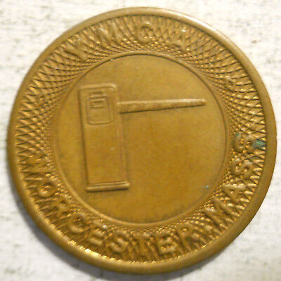 Y.M.C.A. (Worcester, Massachusetts) parking token - MA3970A