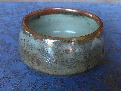 The Friars Aylesford Pottery Bowl with Oxidised Glaze