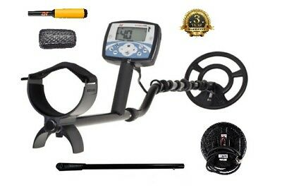Minelab X-TERRA 705 Metal Detector bundle 2 search coils rod pro-find 15 xterra