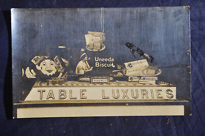 Ca 1920 TABLE LUXURIES - ZU ZU, UNEEDA & SOCIAL TEA BISCUITS Photo NABISCO