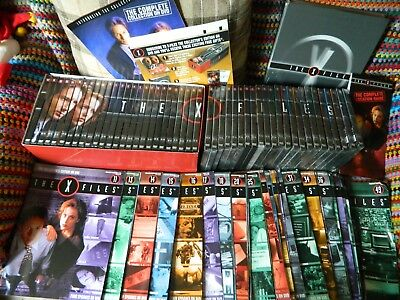 The X Files Dvd Collection Plus Magazines