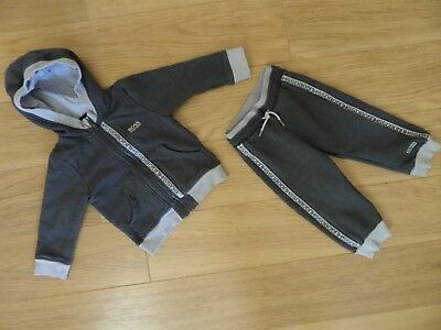 Boy's Hugo Boss Tracksuit. Age 2 Years / 86Cm. Immaculate Condition.
