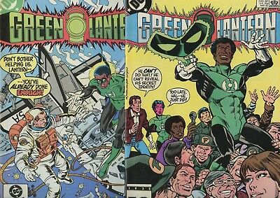 Green Lantern #187 & 188 Alan Moore NM