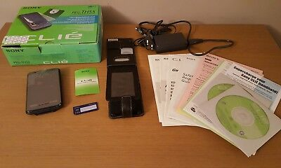SONY CLIE PEG-TH55 PDA - Complete with Box & All Accessories - Hardly used