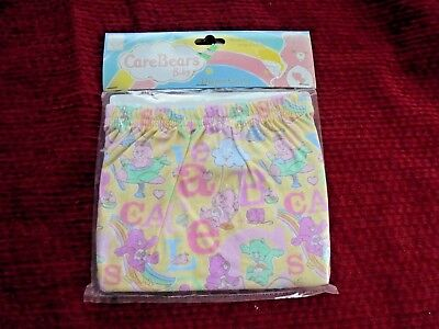 CARE BEARS Diaper Cover Fabric Cotton NEW Size 6-12 months Baby Girl Clothes