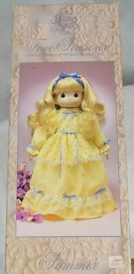 """Precious Moments Four Seasons Limited Edition Porcelain Bisque Doll """"Summer"""""""