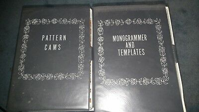 Sears Kenmore Pattern Cams & Monogrammer and Templates Excellent Condition!!