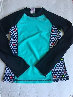 Circo Girl Youth Rashguard Size M 7-8 Years Polyester Preowned