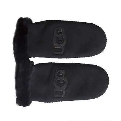 86a3dc88a9c UGG HERITAGE LOGO Shearling Mittens - $109.99   PicClick