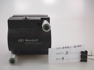 Laser / Optic Equipment NEWPORT 625A-2 Rod-Mounted Mirror Mount w/ Micrometers