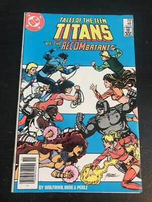 Tales Of The Teen Titans#48 Incredible Condition 9.4(1984) George Perez Art