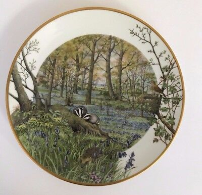 The ''Woodlands in April''1979 Franklin By Peter Barrett, Fine English Porcelain