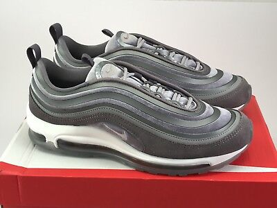 Nike Air Max 97 UL  17 LX Womens AH6805-001 Gunsmoke Grey Running Shoes 3d7d3d938