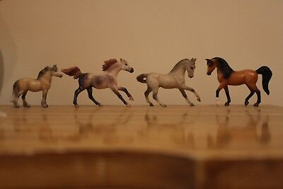 Breyer Stablemate Lot of Four Stablemates- Good Condition