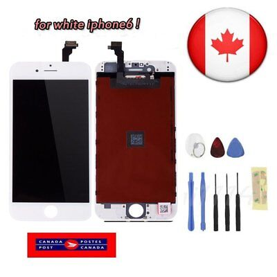 For White iPhone 6 Replacement Front Glass LCD Digitizer Screen Assembly Tool