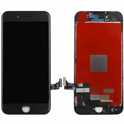 """Replacement for Apple iPhone 8G 4.7"""" Black LCD Touch Screen Digitizer Assembly"""