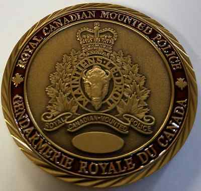 RCMP Royal Canadian Mounted Police VIP Protection Detail Challenge Coin