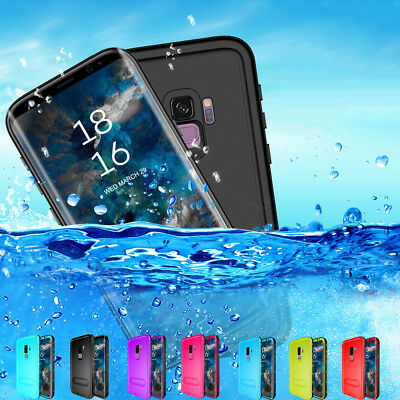 Stand 360° Waterproof Case Cover Underwater For Samsung Galaxy S8 S9 Plus Note 8
