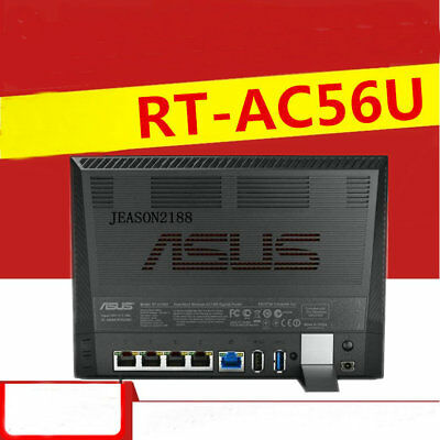 ASUS RT-AC56U dual-band AC1200 high-speed WiFi wall gigabit wireless router