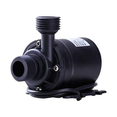 12V/24V DC Solar Power Submersible Fountain Pond Brushless Water Pump 800L/H 5M
