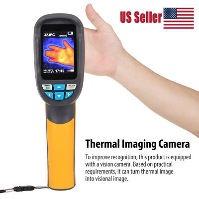 Handheld Thermal Imaging Camera -20℃~300℃ IR Infrared Thermometer Image HT-02D
