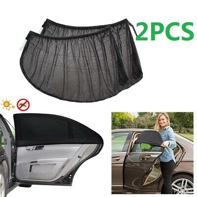 2 Peaces Window Sun Shade Sock Cover UV Protector Baby Child Shield For Car