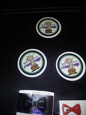 Fem photo (9lb hammer × harambas ghost) /(cyber grape × vigalante) 3pk stickers