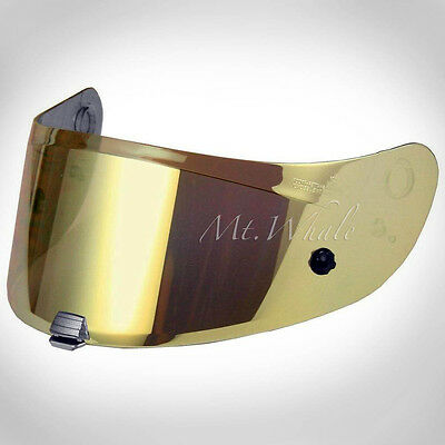 HJC HJ-26 Pinlock Ready Gold Shield Visor for RPHA 11 R-PHA 70 HJ-26ST Helmet