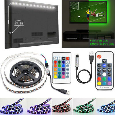 LED TV USB Backlight Kit Computer RGB LED Light Strip TV Background Lights 5M