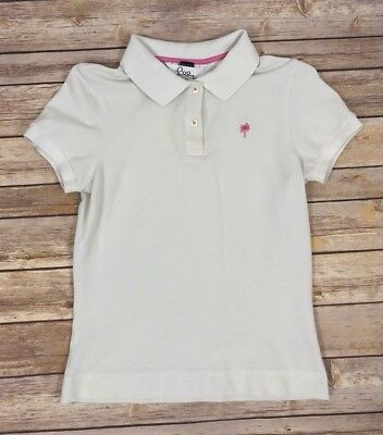 Lilly Pulitzer Baby White Polo Shirt Size S