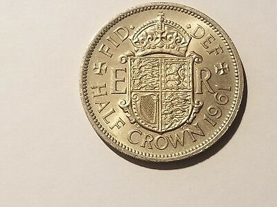 1961 England (UK) Uncirculated Blazers - 1/2 Crown