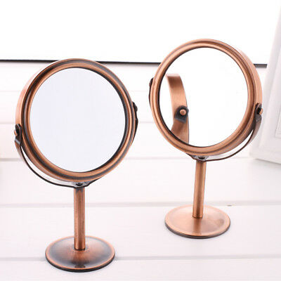 1X Double Sided Cosmetic Make Up Mirror Free Standing Desktop Magnifying Mirror