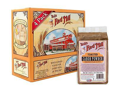 Bob's Red Mill Carob Powder Toasted, 18 Ounce Pack of 4