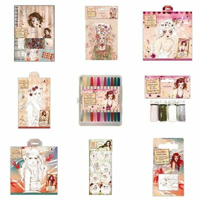 *OFFER* Docrafts Santoro Willow 'Colour Me In' Stamp Craft Collection - RANGE!