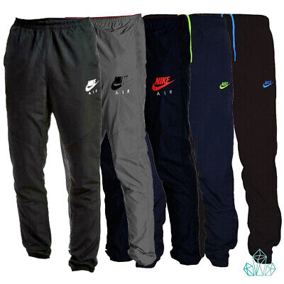 Mens NIKE AIR Tracksuit Bottoms Light Pants Joggers Trousers Black Navy Grey