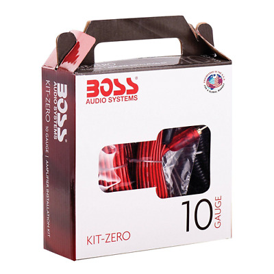 Kit Completo Boss Audio Cavi Audio Rca Amplificatore Subwoofer Auto 10 Gauge