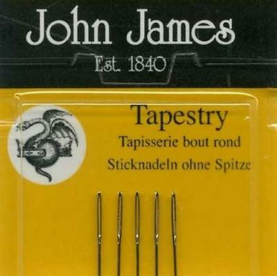 Pack of Petite Tapestry Needles Size 26