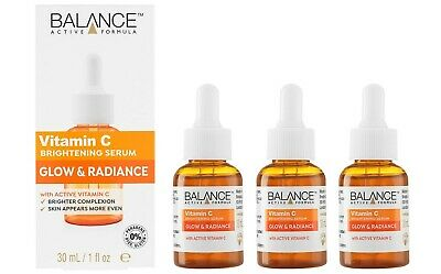 Balance Active Formula Vitamin C Power Serum 30ml, Illuminates & Brightens Skin