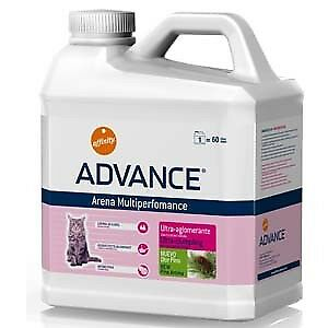 Higiene para gatos arena Multiperformance Advance: Formato 6,36 Kg | Kiwoko