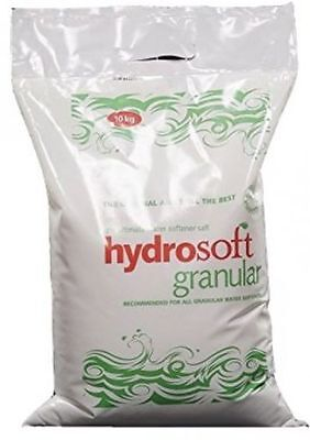 10KG X 6 | HYDROSOFT | GRANULAR SALT | Water Softener Dishwasher | Food Grade