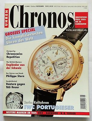 7180) Patek Philippe Chronoswiss Repetition Tag Heuer usw. in Uhren Magazin 2004