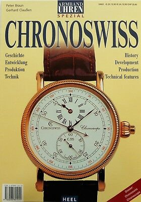 7171) Armband Uhren Spezial Chronoswiss History Production usw. Magazin 2002