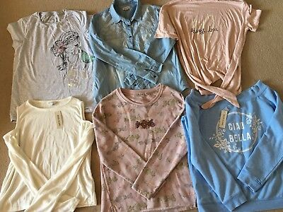 BNWT Summer Bundle Of Girls NEXT RIVER ISLAND Clothes Tops Jumpers Age 11-12